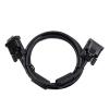 iggual Digitális videokábel DVI-D iggual PSICC-DVI2-BK- Dual Link 3 m Fekete