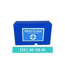 II elsősegély doboz (kék) - Mini férfi edző felszerelés