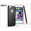 IMAK Apple iPhone 6/6S hátlap - IMAK Ultra-Thin Leather - fekete
