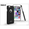 IMAK Apple iPhone 6 Plus/6S Plus hátlap - IMAK Sandstone Super Slim - fekete