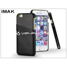 IMAK Apple iPhone 6 Plus/6S Plus hátlap kártyatartóval - IMAK Wise Card Leather - fekete tok és táska