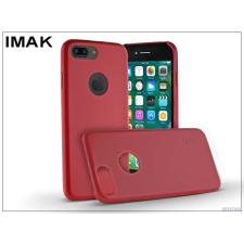 IMAK Apple iPhone 7 Plus hátlap - IMAK Ultra-Thin Leather - piros tok és táska