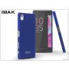 IMAK Sony Xperia X (F5121) hátlap - IMAK Sandstone Super Slim - kék