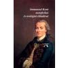 Immanuel Kant IMMANUEL KANT METAFIZIKAI ÉS TEOLÓGIAI ELŐADÁSAI
