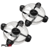 IN WIN polaris rgb twin pack 12cm rgb led ventilátor