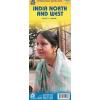 India (észak és nyugat) térkép - ITM