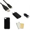 Indulócsomag EXTRA, Huawei P9 Lite, fekete szilikon tokkal