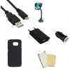 Indulócsomag MEGA, Samsung Galaxy S6 SM-G920, fekete szilikon tokkal
