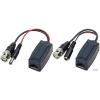 Infinon TTP111HDP-LK 1 csatornás HD-TVI/HD-CVI/AHD passzív video és táp adó/vevő; párban; 10cm kábellel