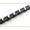Inline spirál szalag kábelcsatorna, 25mm x 10m, fekete