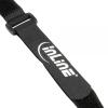 InLine tépőzáras pánt 20x200mm, 10-es pakk, fekete