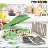 InnovaGoods 7 az 1-ben zöldségdaraboló, reszelő és mandolin receptekkel és kiegészítőkkel Choppie Expert InnovaGoods