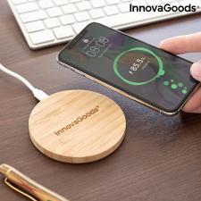 InnovaGoods Bambusz vezeték nélküli töltő InnovaGoods kábel és adapter