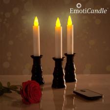 InnovaGoods EmotiCandle Romantic Ambiance LED Gyertyák (3 db) izzó