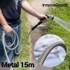 InnovaGoods Törhetetlen Fém Locsolócső (15 m)