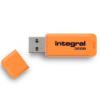 Integral USB Flash Drive Neon 32GB USB 2.0 - Orange