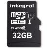 INTEGRALMEMORY Standard 32GB MicroSDHC 10 MB/s INMSDH32G10-SPTOTGR