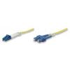 Intellinet Fiber optic patch cable LC-SC duplex 5m 9/125 OS2 singlemode