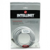Intellinet Network Cable RJ45, Cat6 UTP, 1m White, 100% copper