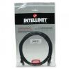 Intellinet Network Cable RJ45, Cat6 UTP, 2m Black, 100% copper
