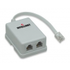 Intellinet Network Solutions Intellinet ADSL modem splitter adapter
