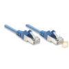 Intellinet patch kábel RJ45, Cat6 UTP, 1m, kék, 100% réz