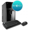 Intensa PC - HPC-I3S-SSDV6 (I3 8100/4GB DDR4/120GB/NO DVD/iVGA/400W/BILL+EGÉR)