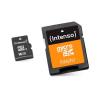 Intenso Micro-SD memóriakártya adapterrel INTENSO 3413470 16 GB 10 osztály