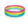 Intex Rainbow 3 gyűrűs medence 86 x 25cm (57104)