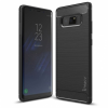 IPAKY szilikon tok Slim Carbon Flexible Samsung Galaxy Note 8 Fekete