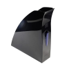 Iratpapucs műanyag Exacompta/Multiform A/4 8 cm fekete