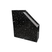 - Irattartó papucs fekete márvány mintás lefűző