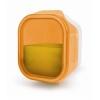 IRIS ételtartó doboz műanyag 450 ml narancs