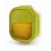 IRIS ételtartó doboz műanyag 450 ml zöld