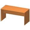Íróasztal 150 (tárgyalóterembe) , cseresznye, TEMPO ASISTENT NEW 020 ZA