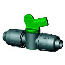 IRRITEC Műanyag csap 16 PE csőre öntözéstechnikai alkatrész