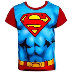 ismeretlen Superman: rövid ujjú póló - 140 méret, kék