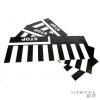 Italtrike STOP jelzés és zebra - 3 db