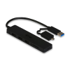 iTec i-tec USB 3.0 Slim HUB 3 Port + Card Reader and OTG Adapter