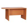 Ívelt asztal, tárgyalóterembe, cseresznye, OSCAR T03