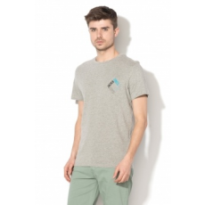 Jack Jones Jack&Jones, Booster kerek nyakú póló, Melange Szürke, XL (12138776-LIGHT-GREY-MELANGE-XL)