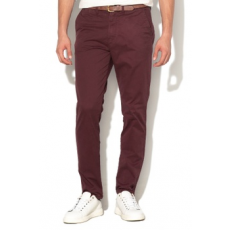 Jack Jones Jack&Jones, Cody regular fit chino nadrág, Bordó, W36-L34 (12139786-WINETASTING-W36-L34)