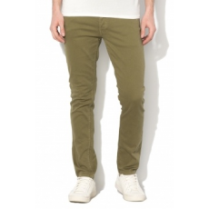 Jack Jones Jack&Jones, Glenn slim fit nadrág, Kheki, W30-L32 (12134830-OLIVE-NIGHT-W30-L32)