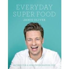 Jamie Oliver Everyday Super Food idegen nyelvű könyv