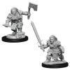 Játék Pathfinder Deep Cuts: Dwarf Barbarian Female szerepjáték figurák (WZK10207)
