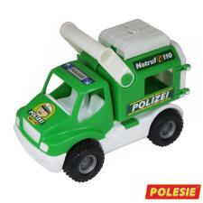 Játék rendőrautó 24 cm autópálya és játékautó
