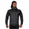 68d27821ed JEFFERSON FRONT PADDED JACKET - BLACK/GRAY (BLACK/GRAY) [M]