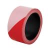 Jelzőszalag, 100 méter, 5 cm széles, piros-fehér