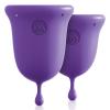 Jimmy Jane Menstrual Cup - menstruációs kehely szett (lila)