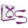 Jimmyjane Ascend 7 - akkus, vízálló dupla vibrátor (lila)